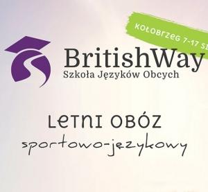 Obóz sportowo-językowy Kołobrzeg 2017
